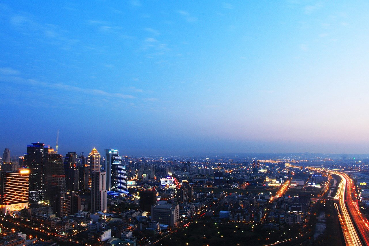 台中市夜景-1280